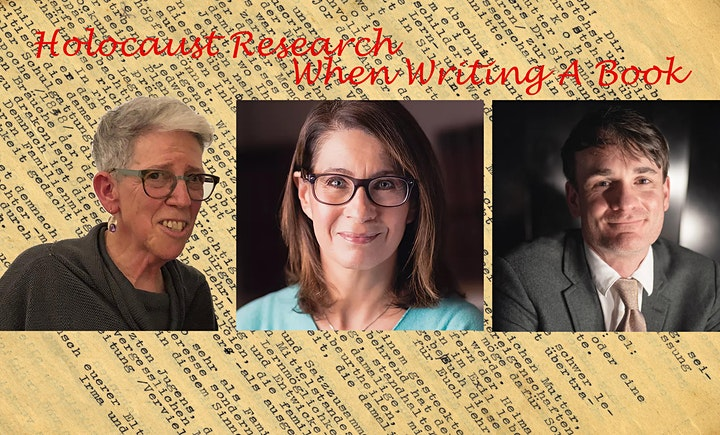 Writing the Holocaust – Authors'  Perspective: Talk with Q&A image