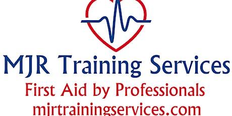 QA Level 3 Award, Emergency First Aid at Work Course. (RQF) tickets