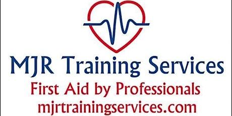 QA, Level 3 Award. Emergency First Aid at Work Course. (RQF) tickets