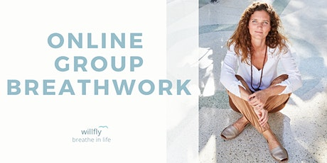 Worldwide online group breath work session - Free yourself, feel and fly tickets