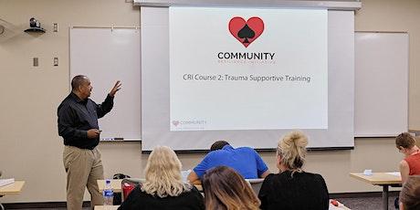 CRI Course 2 LIVE WEBINAR: Trauma Supportive Training - 2 Days tickets