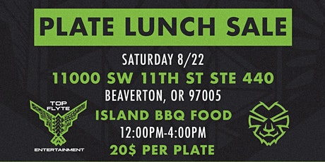 Plate Lunch Sale tickets