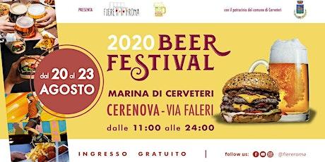 Al via il Beer Festival di Fiere Roma a Marina di Cerveteri biglietti