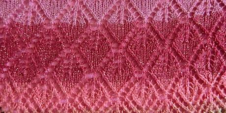 Costura de Renda - Lace Carriage Machine Knitting 'Live' Online Class tickets