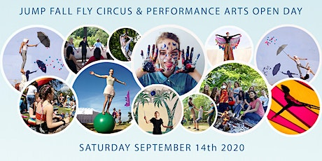 Jump Fall Fly Circus and Performing Arts OPEN DAY tickets