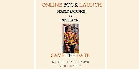 Stella Oni Deadly Sacrifice Online Book Launch biglietti