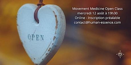 Movement Medicine Open Class billets