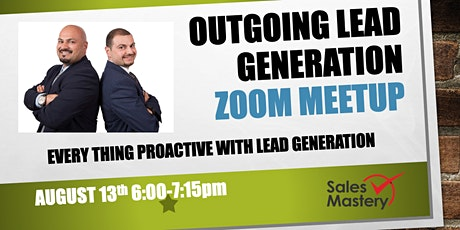 Outgoing Lead Generation MeetUp tickets