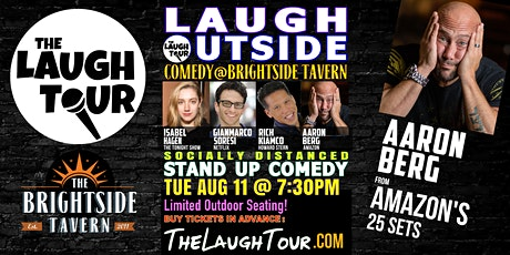 Laugh Outside! Comedy @ Jersey City's Brightside tickets
