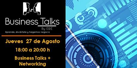 Business Talks E&E. Modelo híbrido de negocio (Presencial y Online) boletos