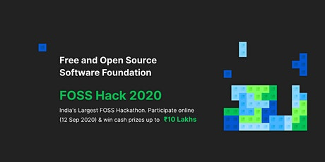 FOSS Hack 2020 - India tickets