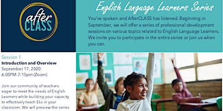 English Language Learners Series Session 1- Launch! tickets