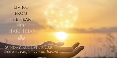 Living from the Heart: A Path to Acceptance and Inner Peace tickets