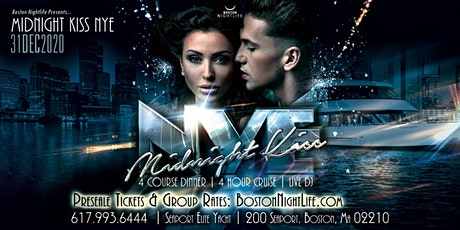 Midnight Kiss Boston New Year's Eve 2021 tickets
