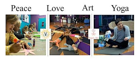 PLAY Time with Sunshine Sunflower & Yoga's Arc (Peace, Love, Art, Yoga) tickets