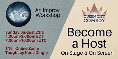 Become a Host - On Stage & On Screen tickets