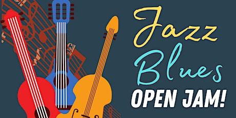 Jazz & Blues OPEN JAM! tickets