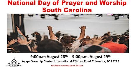 National Prayer & Worship Tent America 2020 Columbia tickets