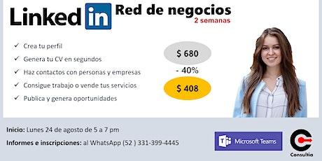 LinkedIn para redes de negocios entradas