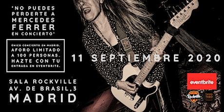 Mercedes Ferrer en concierto + artistas invitados - sala Rockville (Madrid) entradas