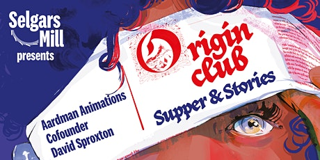 Origin Club: Supper & Stories with David Sproxton tickets