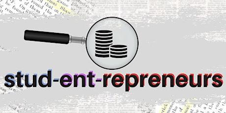 Studentrepreneurs webinar tickets