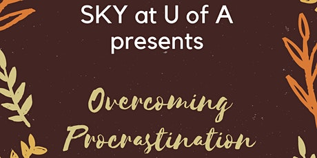 Overcoming Procrastination tickets