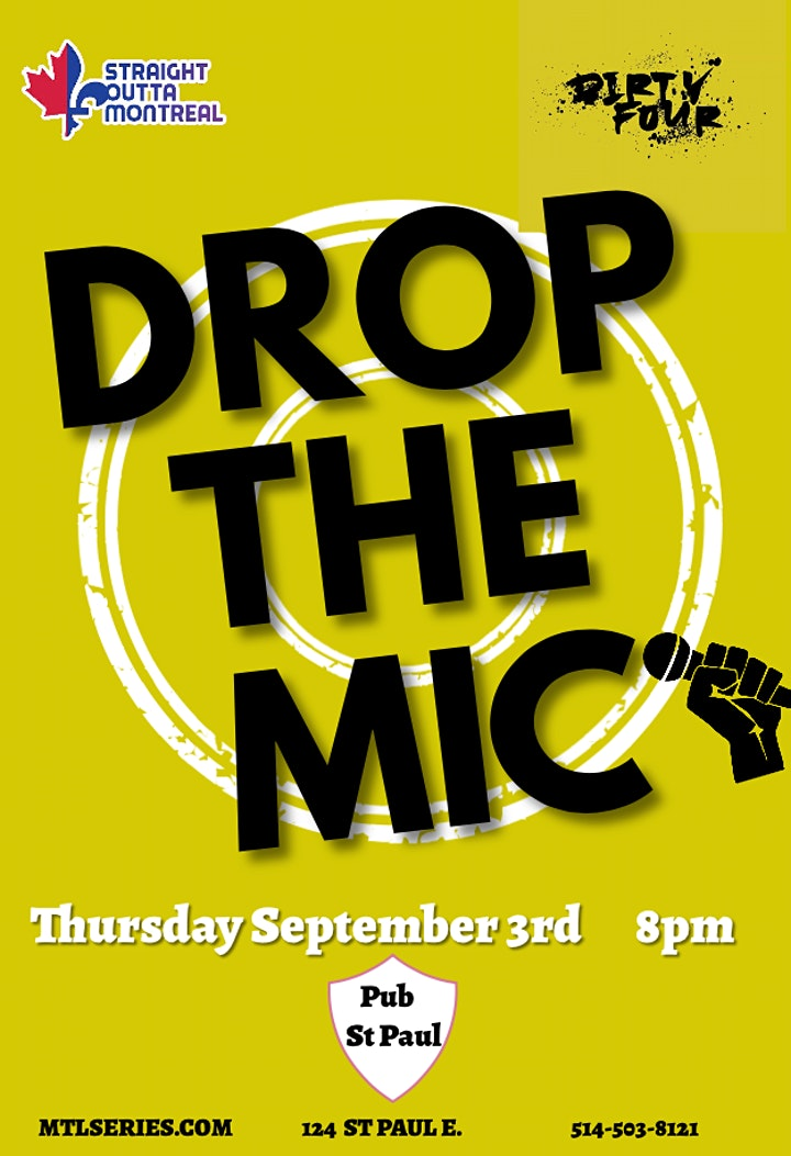 Drop The Mic ( Stand-Up Comedy ) Montrealcomedyseries.com image