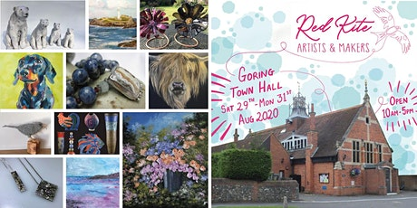 Red Kite Artists & Makers at Goring Village Hall tickets