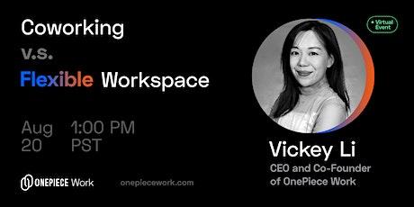 Coworking vs. Flexible Workspace tickets