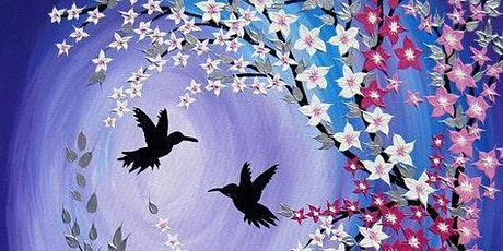 Hummingbirds  Painting  (Online Live Course) Tickets