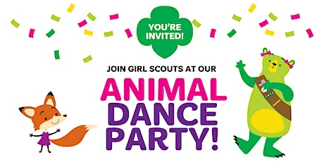 Animal Dance Party - Join Girl Scouts in Allen, Texas! tickets