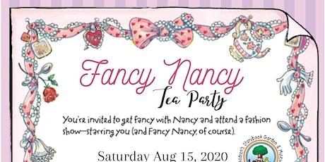 Fancy Nancy Tea Party tickets