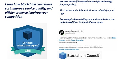 Blockchain Training tickets