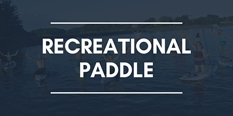 Tuesday  Night Community Paddle: Recreational Group 2 tickets
