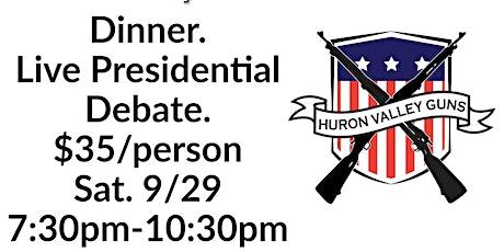 The Dinner Debate tickets