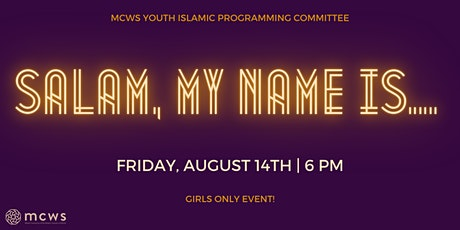 Salam, My Name Is...! tickets