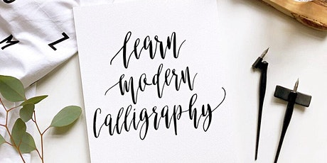 Online Modern Calligraphy Workshop: with a personalised kit posted to you tickets