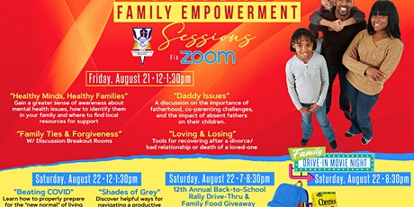 Virtual Zoom Family Empowerment Sessions 2020 tickets