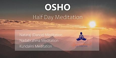 Osho  Active Meditation Half Day tickets