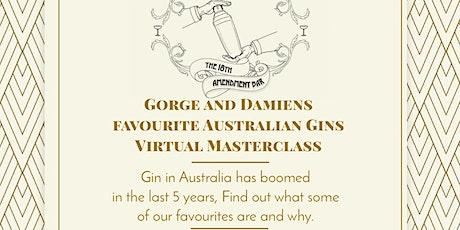 18th Amendment Bar - Gorge and Damiens Favourite Aussie Gins tickets