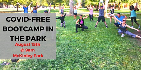 COVID-FREE Bootcamp in the Park tickets