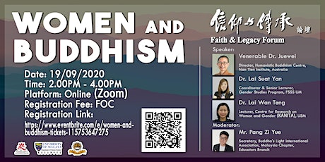 Women and Buddhism tickets