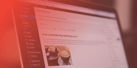 WordPress Workshop tickets