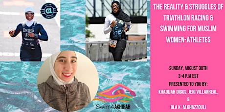 The Reality and Struggles of Triathlon Racing & Swimming for the Muslim wom tickets