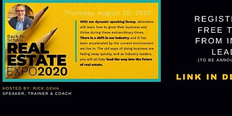 Back to School Real Estate Expo 2020 tickets