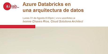 Azure Databricks en una arquitectura de datos billets