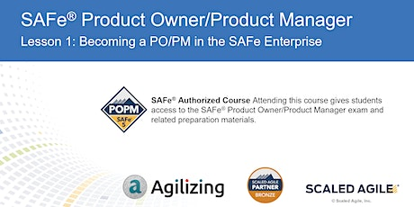 SAFe Product Owner Product Manager tickets