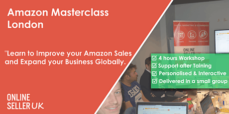 Amazon Masterclass Training Course - London tickets