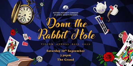 VicCom Annual Ball: Down the Rabbit Hole tickets